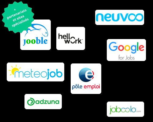 Job-boards partenaires